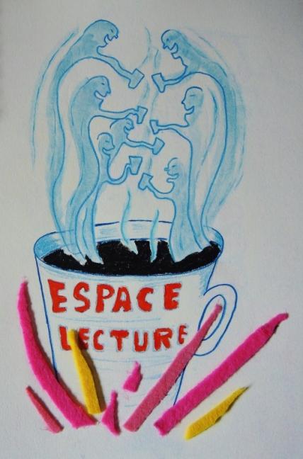 L'Espace lecture vu par Frédéric Hubert